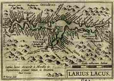 LAKE COMO LARIUS LACUS