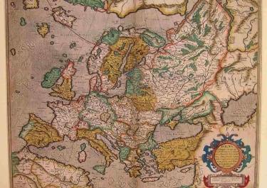 EUROPE EUROPA AD MAGNAE EUROPAE GERARDI MERCATORIS