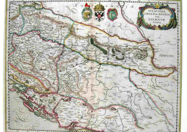 SCLAVONIA, CROATIA,BOSNIA CUM DALMATIAE PARTE