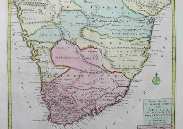 SOUTH AFRICA AFRIKA OF HET LAND DER HOTTENTOTEN