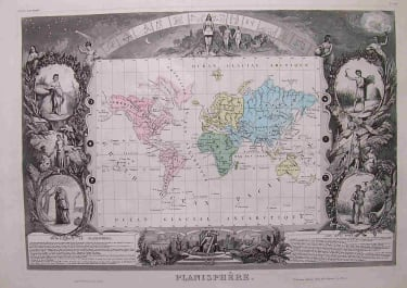 WORLD PLANISPHERE