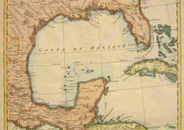TEXAS,LOUISIANA,FLORIDA L'ANCIEN ET LE NOUVEAU MEXIQUE AVEC LA FLORIDE ET LA BASSE LOUISIANE