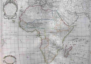 AFRICA CARTE D'AFRIQUE