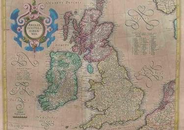 BRITISH ISLES ANGLIA SCOTIA ET HIBERNIA