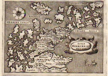 SCOTTISH ISLANDS DESCRITTIONE DELL'ISOLE HEBRIDI ET ORCADI