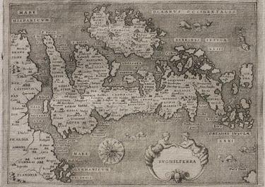 BRITISH ISLES DESCRITTIONE DELL'ISOLA D'INGHILTERRA