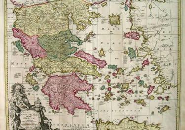 GREECE EXACTISSIMA TOTIUS ARCHIPELAGI NEC NON GRAECIAE TABULA