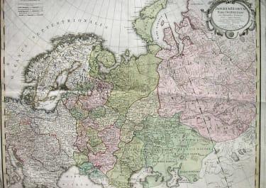 RUSSIA IMPERIUM RUSSICUM PARS OCCIDENTALIS
