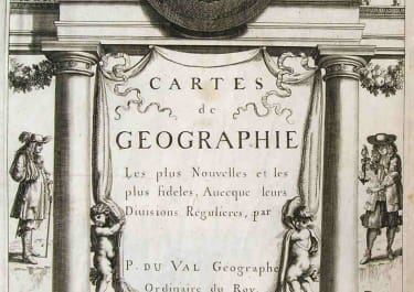 TITLE PAGE CARTES DE GEOGRAPHIE