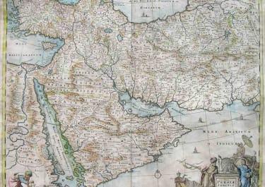 MIDDLE EAST NOVA PERSIAE ARMENIAE NATOLIAE ET ARABIE