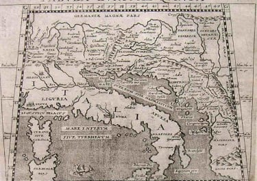 DALMATIA TABULA EUROPA QUINTA