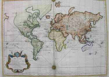 WORLD AN ESSAY OF A NEW AND COMPACT MAP CONTAINING THE KNOWN PARTS OF THE TERRESTIAL GLOBE