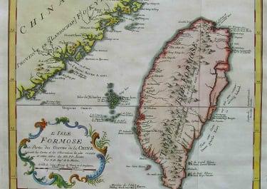 TAIWAN FORMOSA L'ISLE FORMOSE