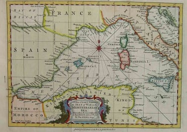 WESTERN MEDITERRANEAN A NEW CHART OF THE MEDITERRANEAN SEA