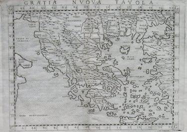 GREECE GRAETIA NUOVA TAVOLA