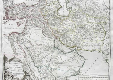 TURKISH EMPIRE ETATS DU GRAND -SEIGNEUR EN ASIE