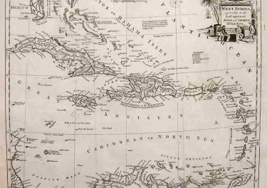 WEST INDIES MOST AGREABLE TO THE MOST APPROVED MAPS & CHARTS Mr KITCHEN