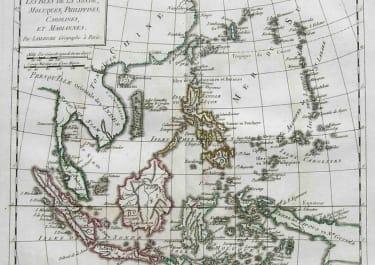 EAST INDIES LES ISLES DE LA SONDE,MOLUQUES,PHILIPPINES,CAROLINES ET MAIANNES