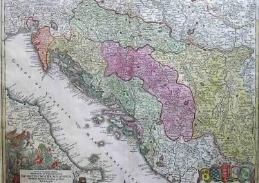 DALMATIAN COAST SERBIA ETC DALMATIAE,CROATIAE,SCLAVONIAE