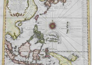 PHIPPINES,JAPAN,BORNEO SUITE DE L'OCEAN ORIENTALE