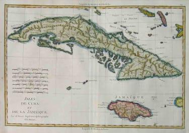 CXUBA JAMAICA ISLES DE CUBA ET DE LA JAMAIQUE