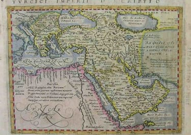 TURKISH EMPIRE TURCICI IMPERII DESCRIPTIO