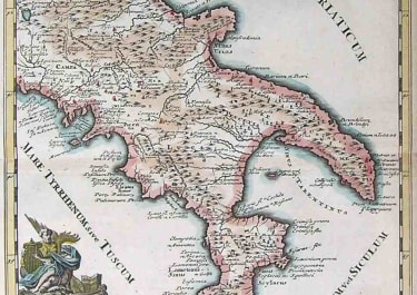 SOUTH ITALY CAMPANIAE SAMNII APULIAE