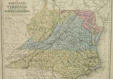MARYLAND,VIRGINIA,WEST VIRGINA AND NORTH CAROLINA