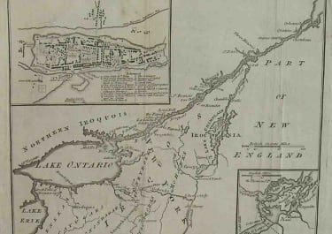 MONTREAL A PARTICULAR MAP TO ILLUSTRATE GEN AMHERSTS EXPEDITION TO MONTREAL