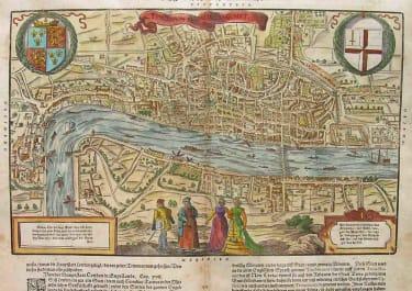 LONDON MUNSTER LONDON ODER LUNDEN DIE HAUPESTATT IN ENGELLANDE
