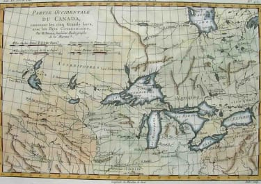 THE GREAT LAKES PARTIE OCCIDENTALE DU CANADA