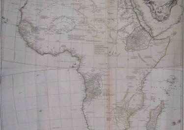 AFRICA AFRIQUE PUBLIEE SOUS LES AUSPICES DE MONSEIGNEUR LE DUC D'ORLEANS PREMIER PRINCE DU SANG