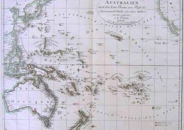AUSTRALIA PACIFIC CHARTE VON AUSTRALIEN