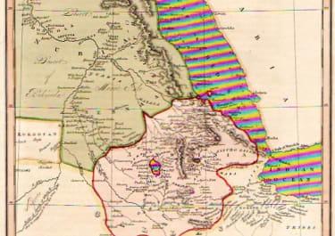 SUDAN ETHIOPIA NUBA AND ABYSSINIA