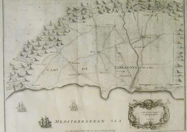 TARRAGONA PLAN OF THE CAMP OF TARRAGONA