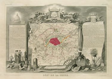 PARIS DEPt DE LA SEINE