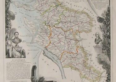 CHARENTE ISLE DE RE DEPt DE LA CHARENTE