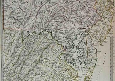 PENNSYLVANIA,NEW JERSEY,VIRGINIA & MARYLAND