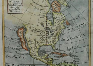 NORTH AMERICA ACCORDING TO THE LATEST OBSERVATIONS