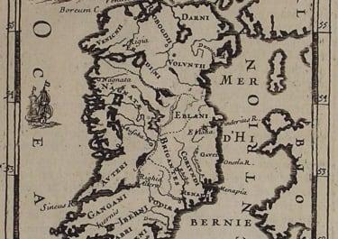 IRELAND ANCIENNE ISLE D'HIBERNIAE