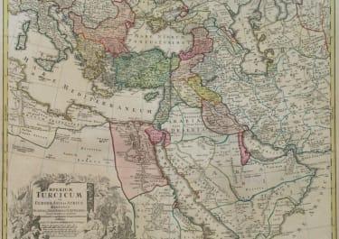 TURKISH EMPIRE IMPERIUM TURCICUM