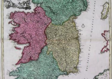 IRELAND HIBERNIAE REGNUM