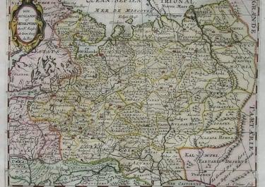 RUSSIA WIT RUSSLANDT OF MUSKOVIAN