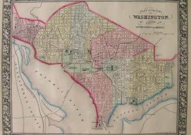 WASHINGTON A PLAN OF THE CITY OF WASHINGTON