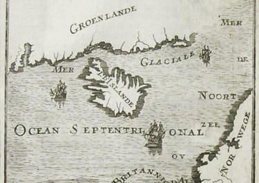 GREENLAND ICELAND DECOWERTE DE LA GROENLANDE