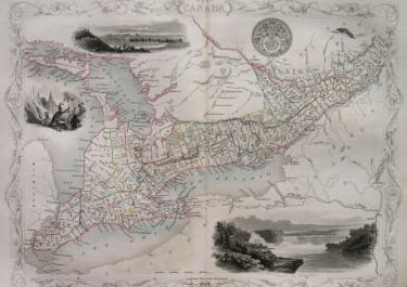 CANADA TORONTO MONTREAL WEST CANADA