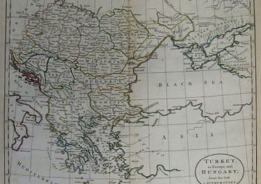 GREECE MACEDONIA TURKEY IN EUROPE AND HUNGARY FROM HE BEST AUTHORITIES
