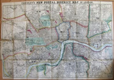 LONDON CRUCHLEY'S NEW POSTAL DISTRICTS OF LONDON