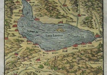 LAKE GENEVA VON DEM GENFFER SEE