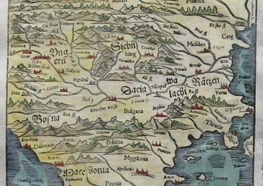 BALKANS HUNGARY BULGARIA DELLA UNGARIA TRANSILUANIA PROVINCIA DEL REGNO